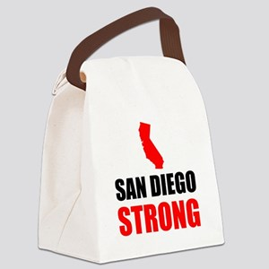 San Diego Strong Canvas Lunch Bag