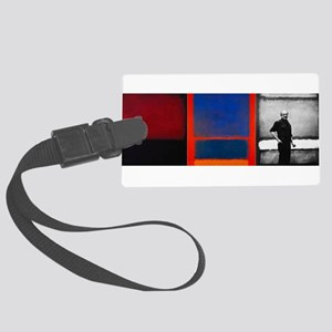 ROTHKO 2 PAINTS AND SELF Luggage Tag