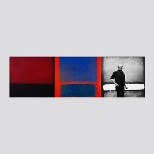 ROTHKO 2 PAINTS AND SELF Wall Decal