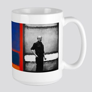 ROTHKO 2 PAINTS AND SELF Mugs