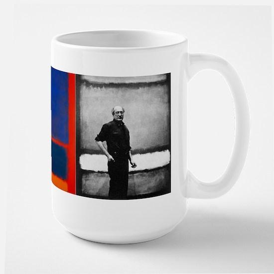ROTHKO 2 PAINTS AND SELF Mugs