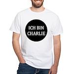 Charlie in German White T-Shirt