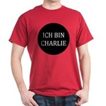 Charlie in German Dark T-Shirt