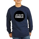 Je suis Charlie Long Sleeve Dark T-Shirt