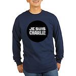 Je suis Charlie Long Sleeve Dark T-Shirt