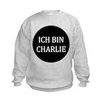Charlie in German Kids Sweatshirt