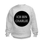 Charlie in German Kids Sweatshirt
