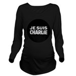 Je suis Charlie Long Sleeve Maternity T-Shirt