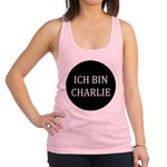 Charlie in German Racerback Tank Top