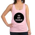 Yo Soy Charlie Racerback Tank Top