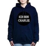 Charlie in German Women's Hooded Sweatshirt