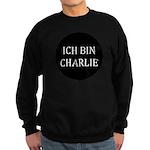 Charlie in German Sweatshirt (dark)