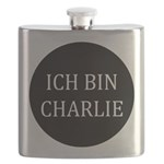 Charlie in German Flask