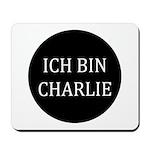 Charlie in German Mousepad