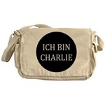 Charlie in German Messenger Bag