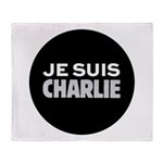 Je suis Charlie Throw Blanket
