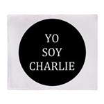 Yo Soy Charlie Throw Blanket