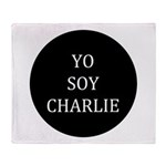 Yo Soy Charlie Throw Blanket