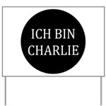 Charlie in German Yard Sign