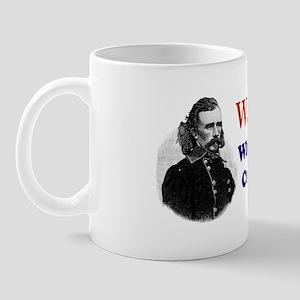 What would CUSTER Do Mug