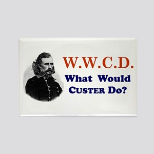 What would CUSTER Do Rectangle Magnet