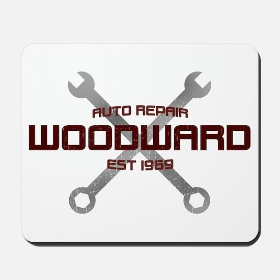 Woodward Ave Auto Repair Mousepad
