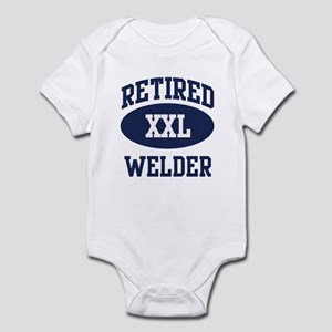 Retired Welder Infant Bodysuit