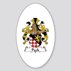 Peck Oval Sticker