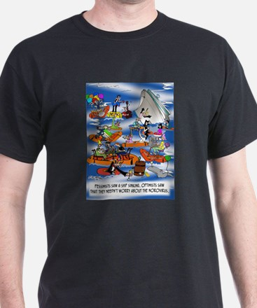 Boat Cartoon 8280 T-Shirt