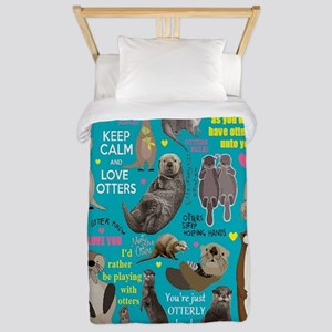 Otters Twin Duvet