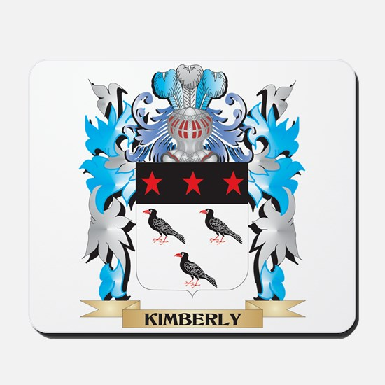 Kimberly Coat of Arms - Family Crest Mousepad