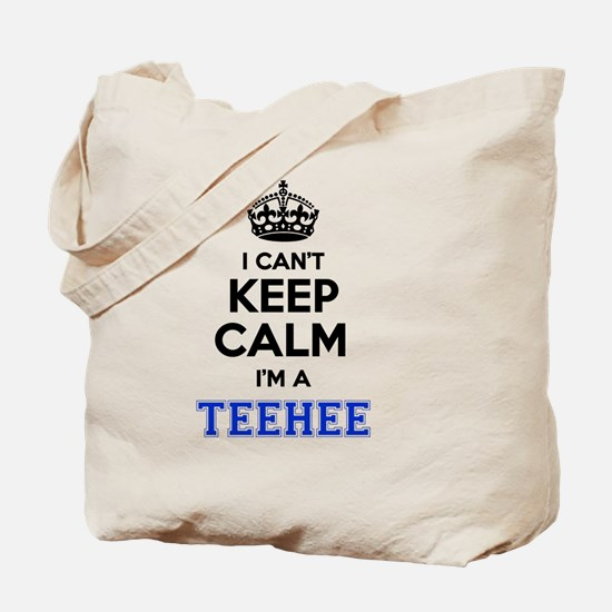 Unique Teehee Tote Bag