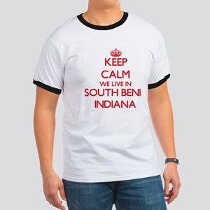 Keep calm we live in South Bend Indiana T-Shirt