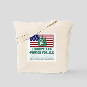 Liberty - Legal Disclaimer Tote Bag