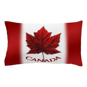 Canada Flag Souvenir Pillow Case Canada Flag Gifts