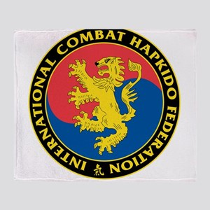 Combat Hapkido Throw Blanket