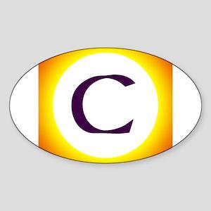 Sunny C Sticker