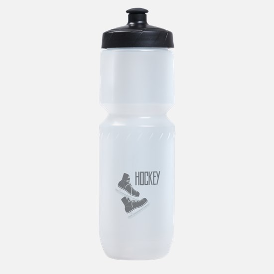 Hockey Ice Skates Sports Bottle