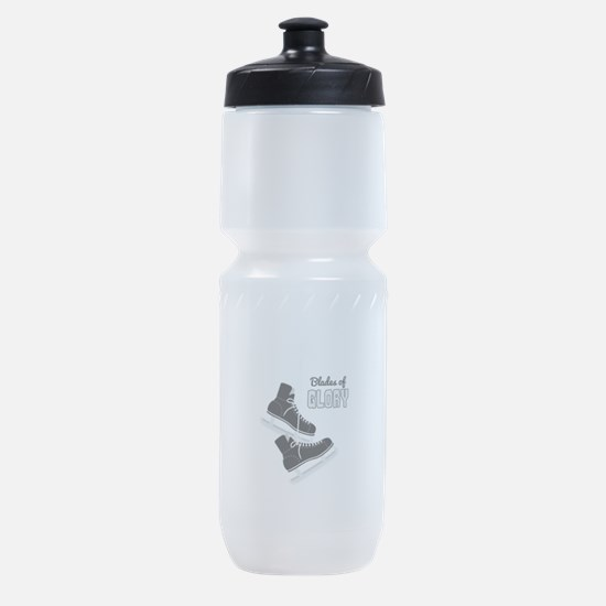 Hockey Ice Skates Blades Glory Sports Bottle