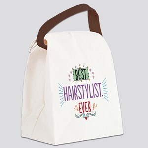 Best Hairstylist Ever Canvas Lunch Bag