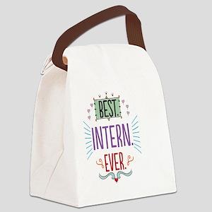 Best Intern Ever Canvas Lunch Bag