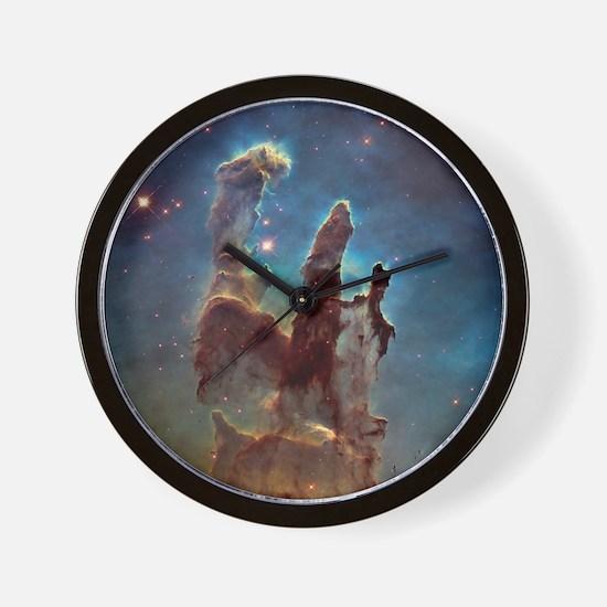 Pillars of Creation 2015 Eagle Nebula Wall Clock