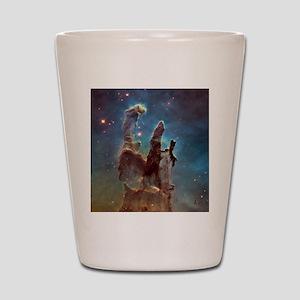 Pillars of Creation 2015 Eagle Nebula Shot Glass