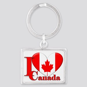I love Canada Landscape Keychain
