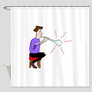 Glass Blower Shower Curtain