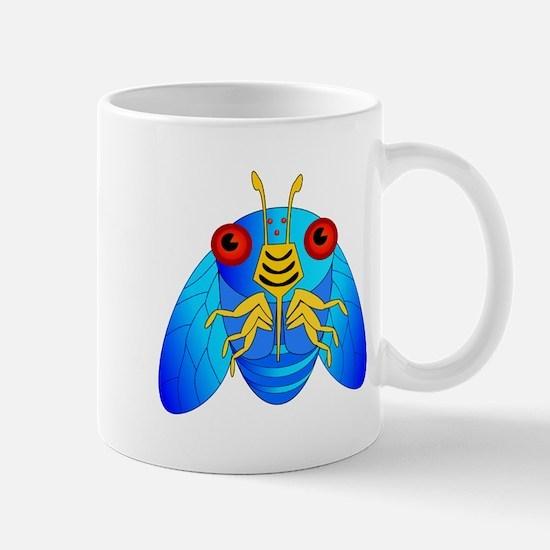Blue Cicada Logo Mugs
