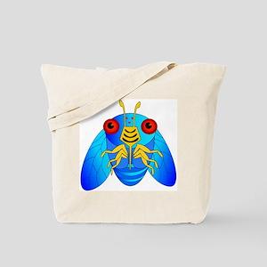 Blue Cicada Logo Tote Bag