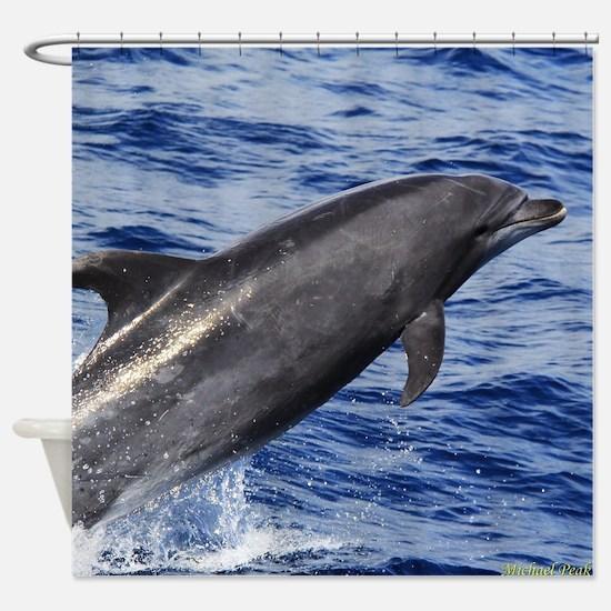 Bottlenose Dolphin 2 Shower Curtain