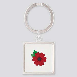 Remembrance Day Poppy Keychains