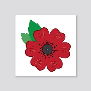 Remembrance Day Poppy Sticker
